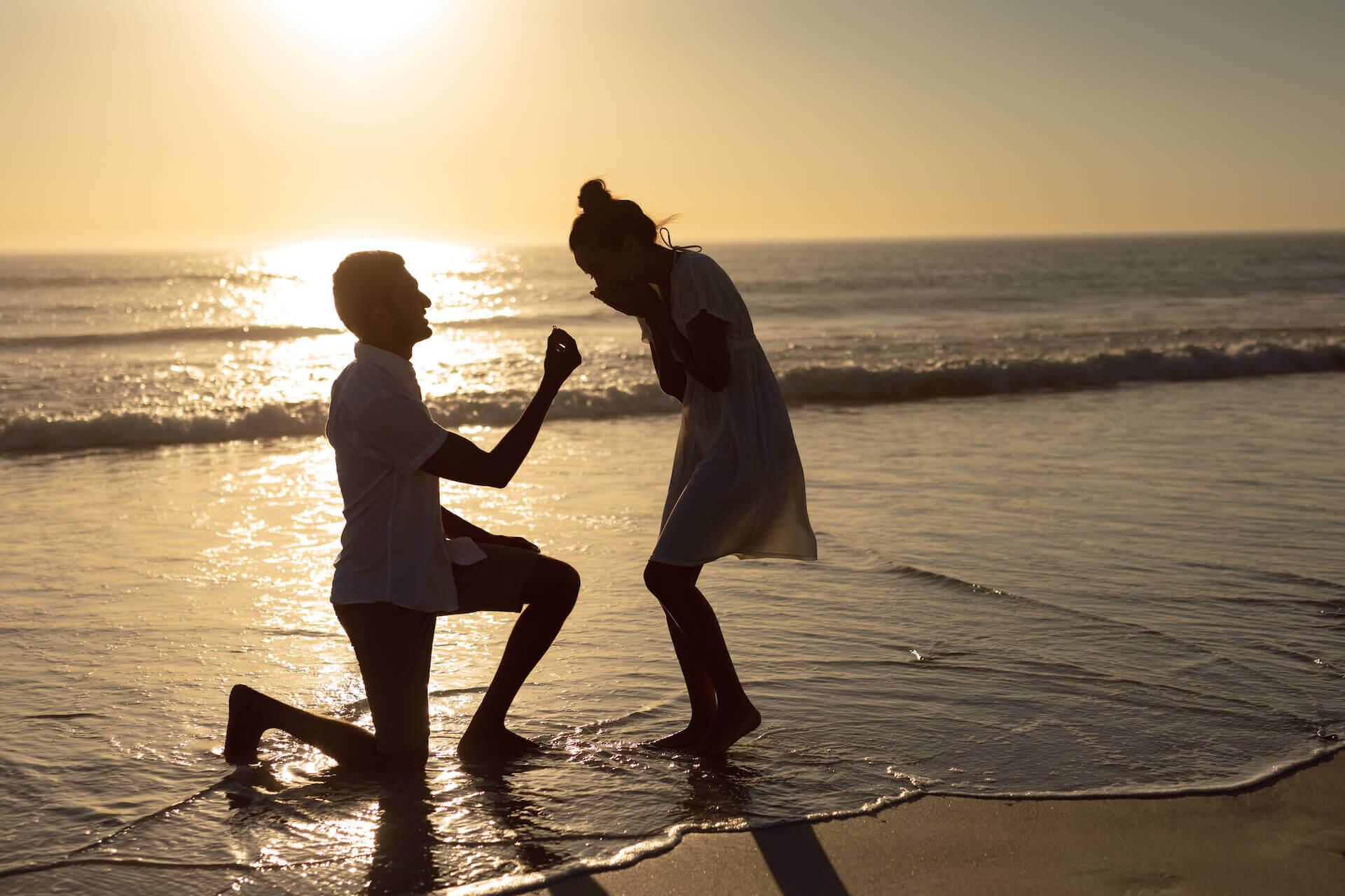 מקומות להצעת נישואין