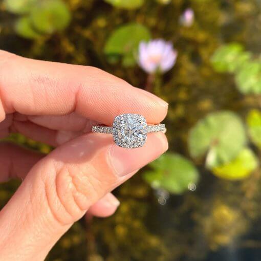 טבעת אירוסין אדריאנה