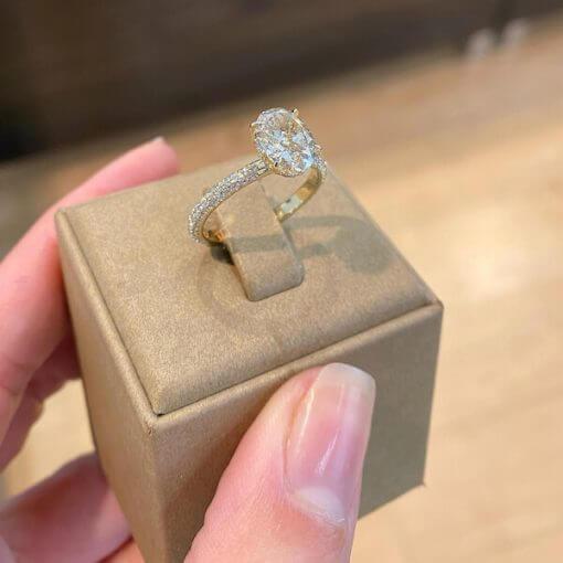 טבעת אירוסין קייט